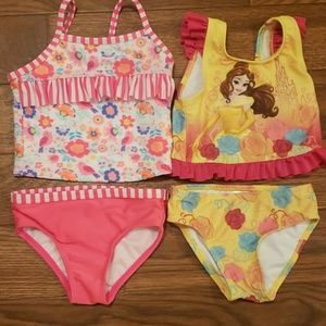 Two 2T swimsuits